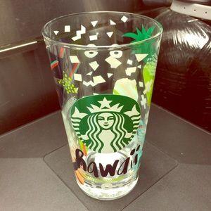 Starbucks Hawaii Pint glass